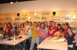 Kids/Teen Bead Workshop 101 - Class fee per child $ 25 (all supplies included in price)