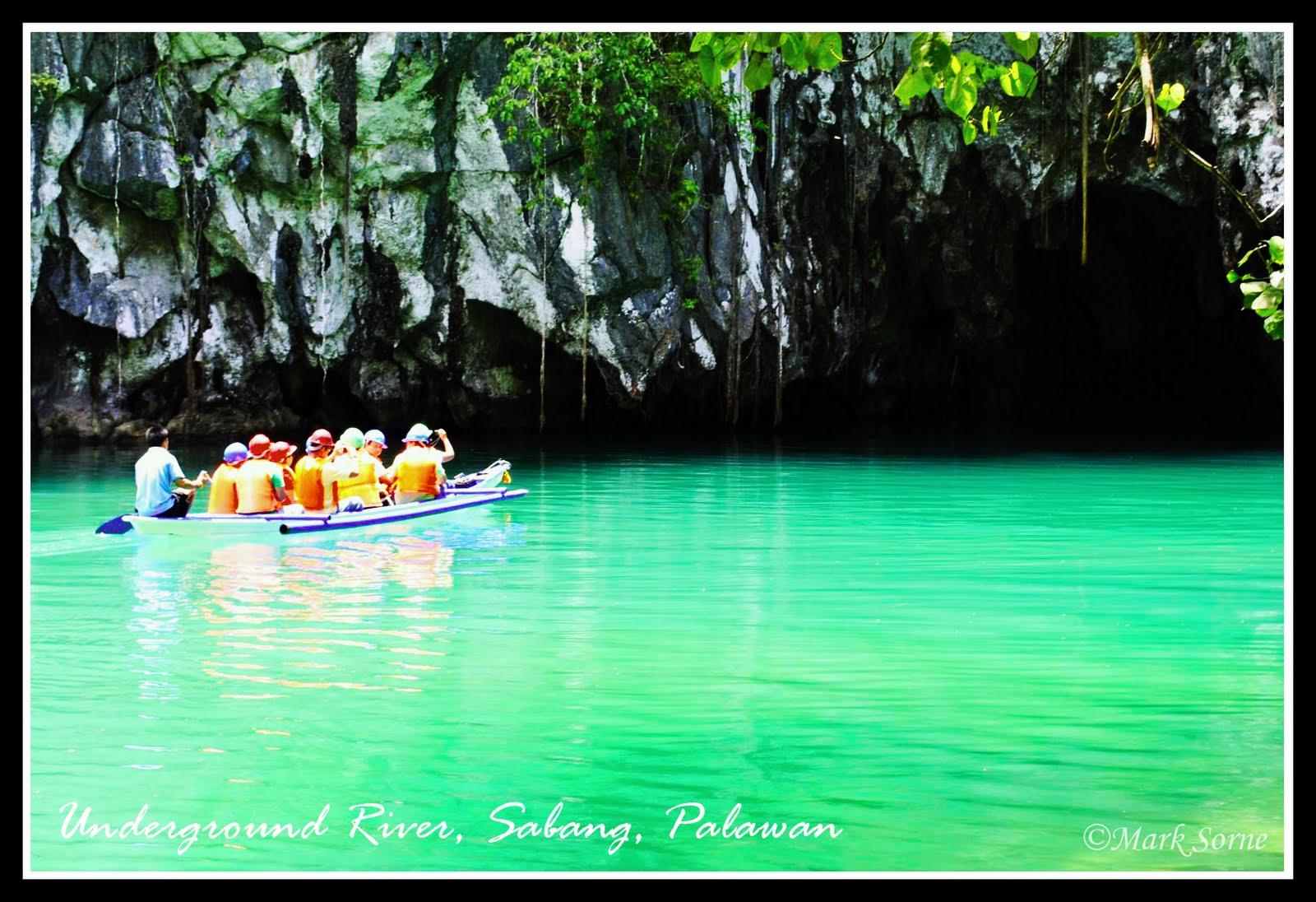 Underground river sabang palawan