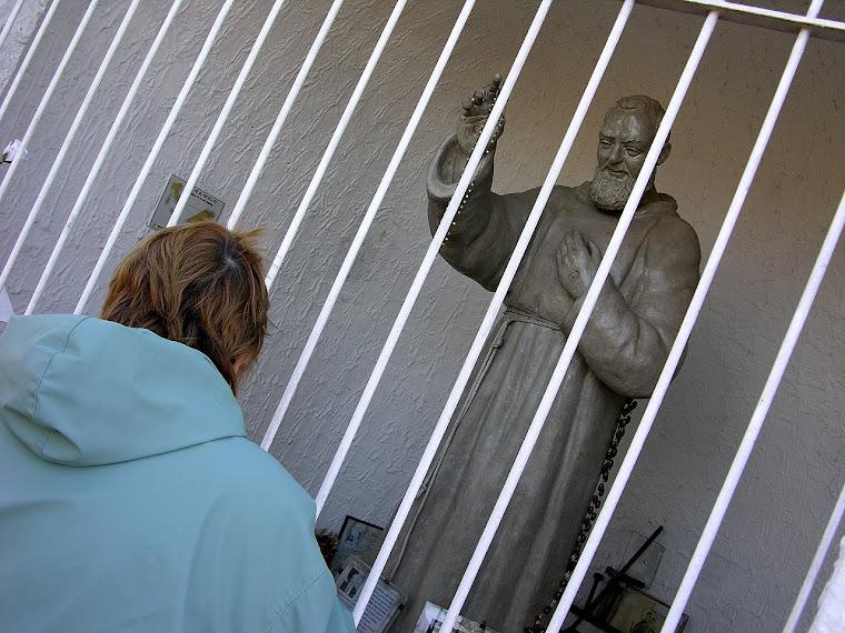 a solas con el Padre Pío