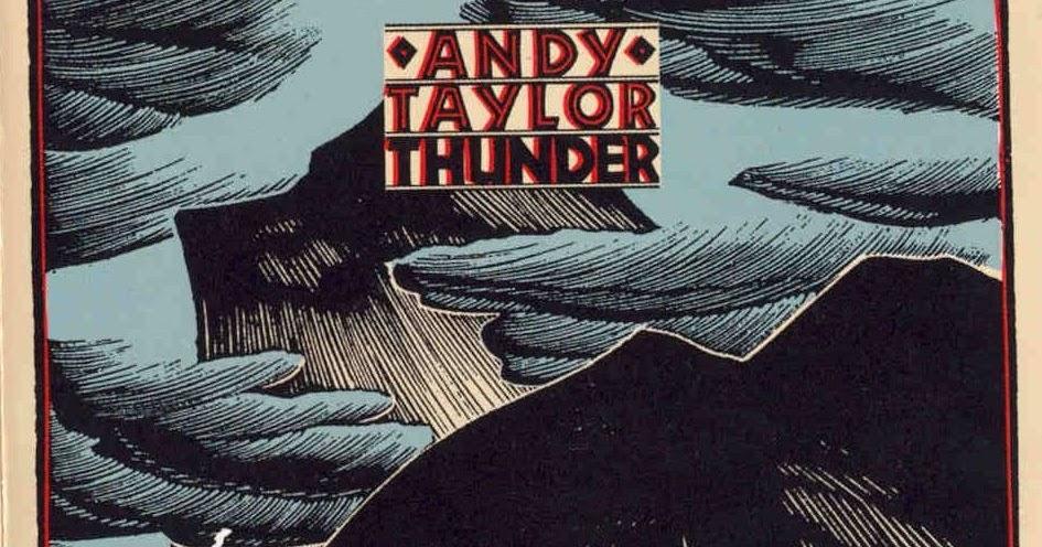 ¿Qué Estás Escuchando? - Página 37 AndyTaylor-Thunder-Front