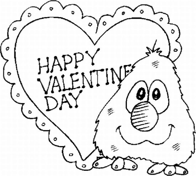 Valentine\'s Day Coloring Pages | Free Printable Coloring Pages