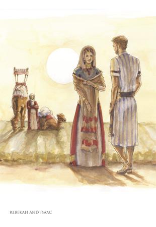 Isaac and rebecah