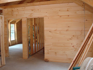 The Kiker 39 S Florida First Day Tongue And Groove On Interior Wall