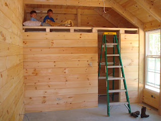 the kiker 39 s florida first day boys bunk closet framing. Black Bedroom Furniture Sets. Home Design Ideas
