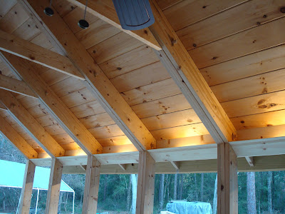 The Kiker S Florida First Day Indirect Lighting On The Porch