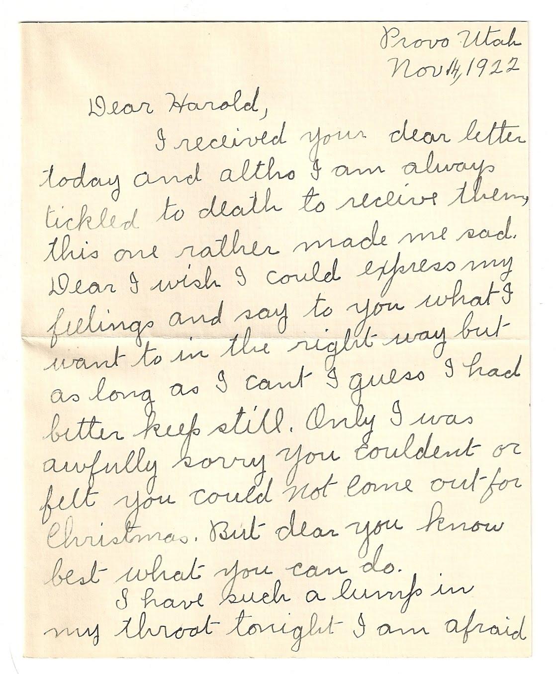 love letters jennie l hullinger