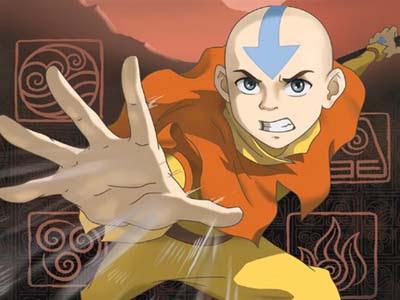 Avatar, o menino puro e inocente.