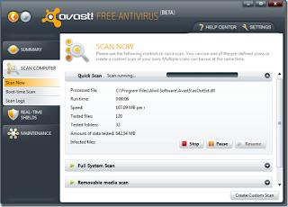 Novo Avast 5.