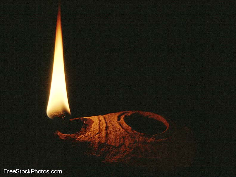 lamp and bible - photo #49