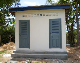 2-Stall Latrine Completed