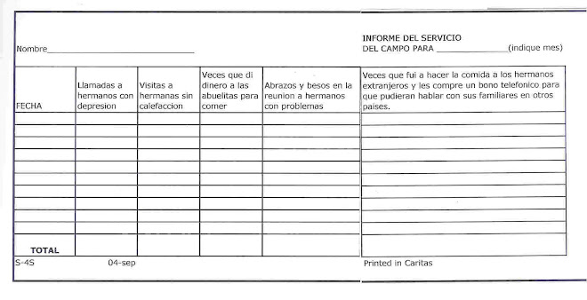 Informe del Ministerio del Campo