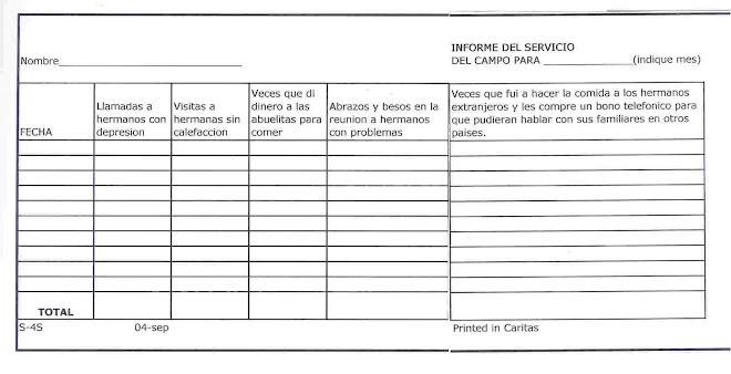 Informe del Ministerio del Campo