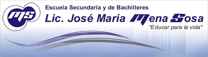 Departamento Psicopedagógico Esc. Lic. José María Mena Sosa