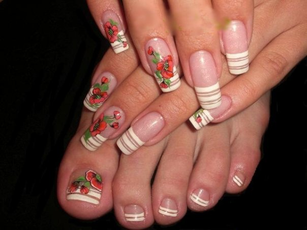 Fashion world nail art fashion nail art seems to be catching on in fashion lately i see hand and foot salon adding nail art to their list of services i can understand why women love prinsesfo Images