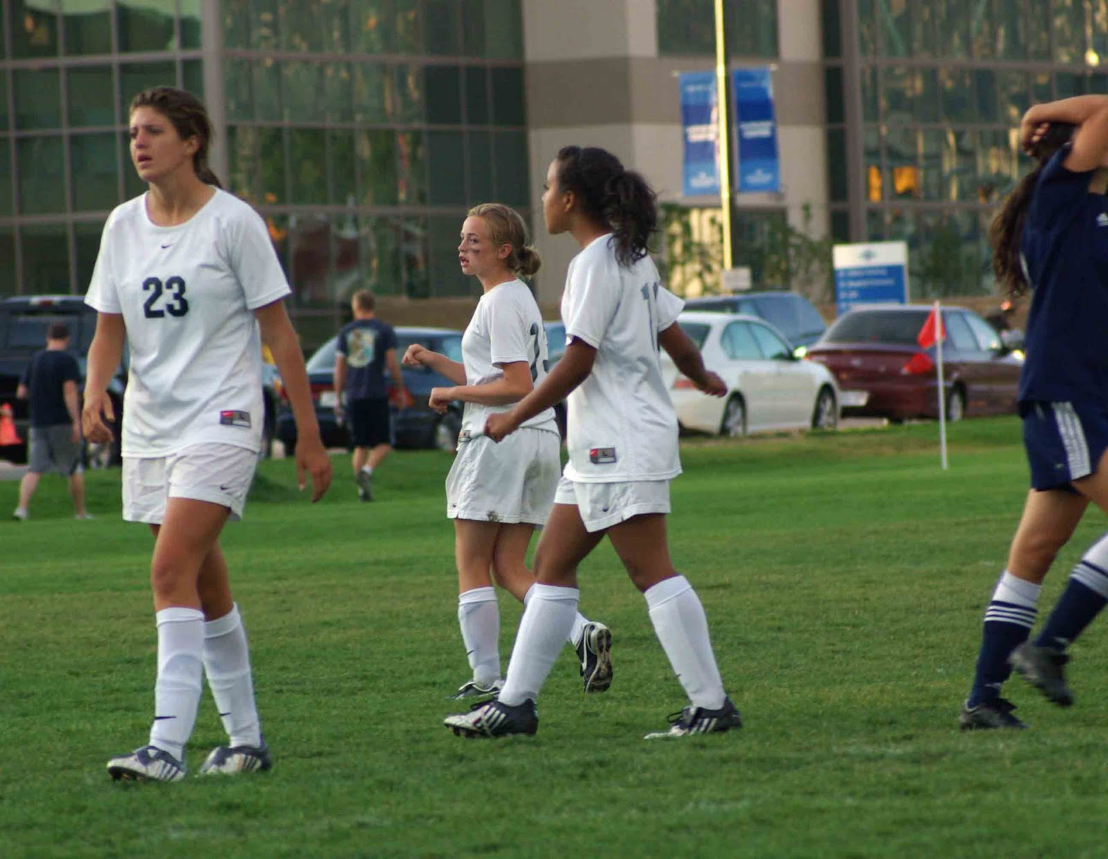 Being shoved, smacked, stolen from, ATTACKED!!!! (Soccer girls are FIERCE!