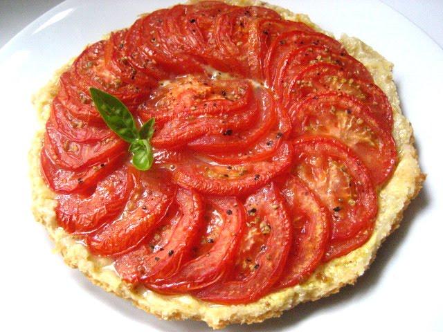 Stacey Snacks: Tart # 22: Tomato Tarte Tatin