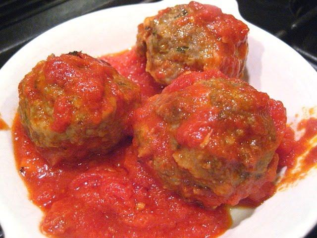 Frankies' Meatballs & Sauce. No Pasta Needed