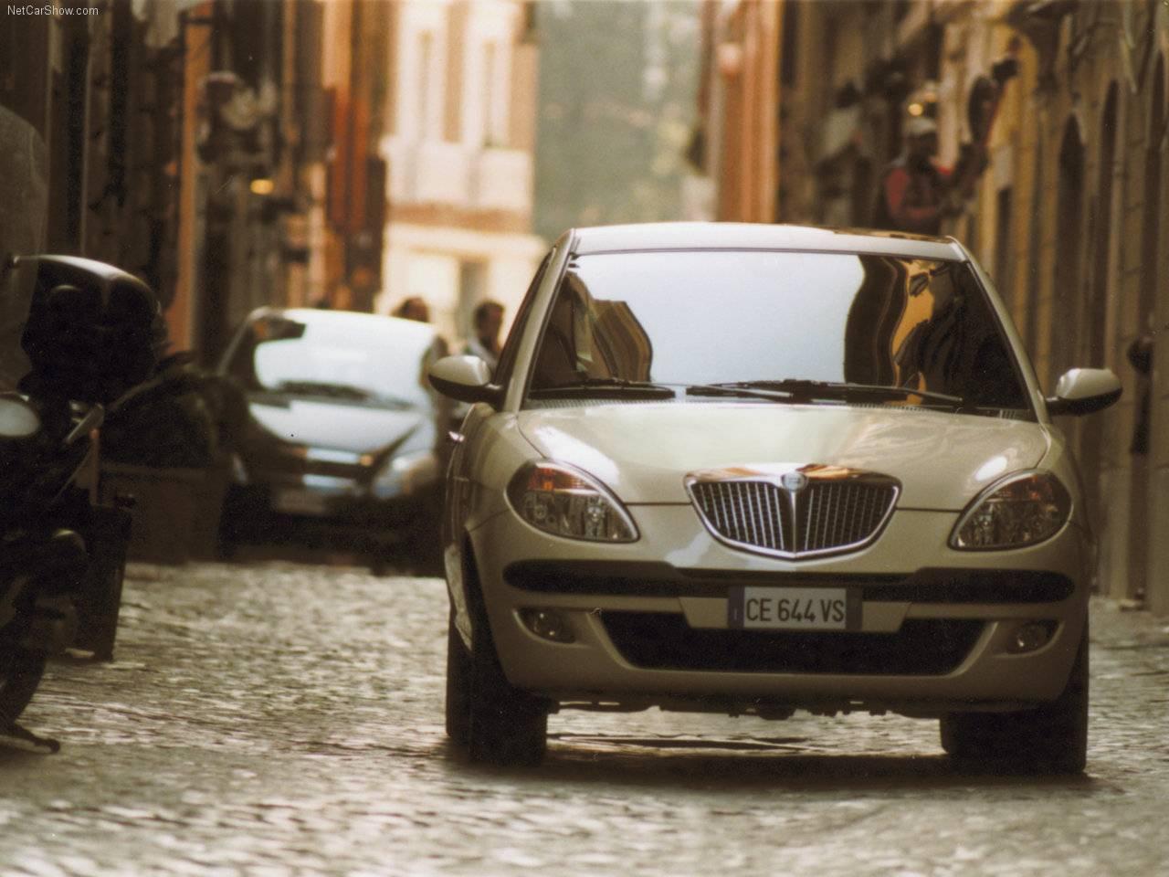 Lancia - Auto twenty-first century: 2004 Lancia Ypsilon DFN