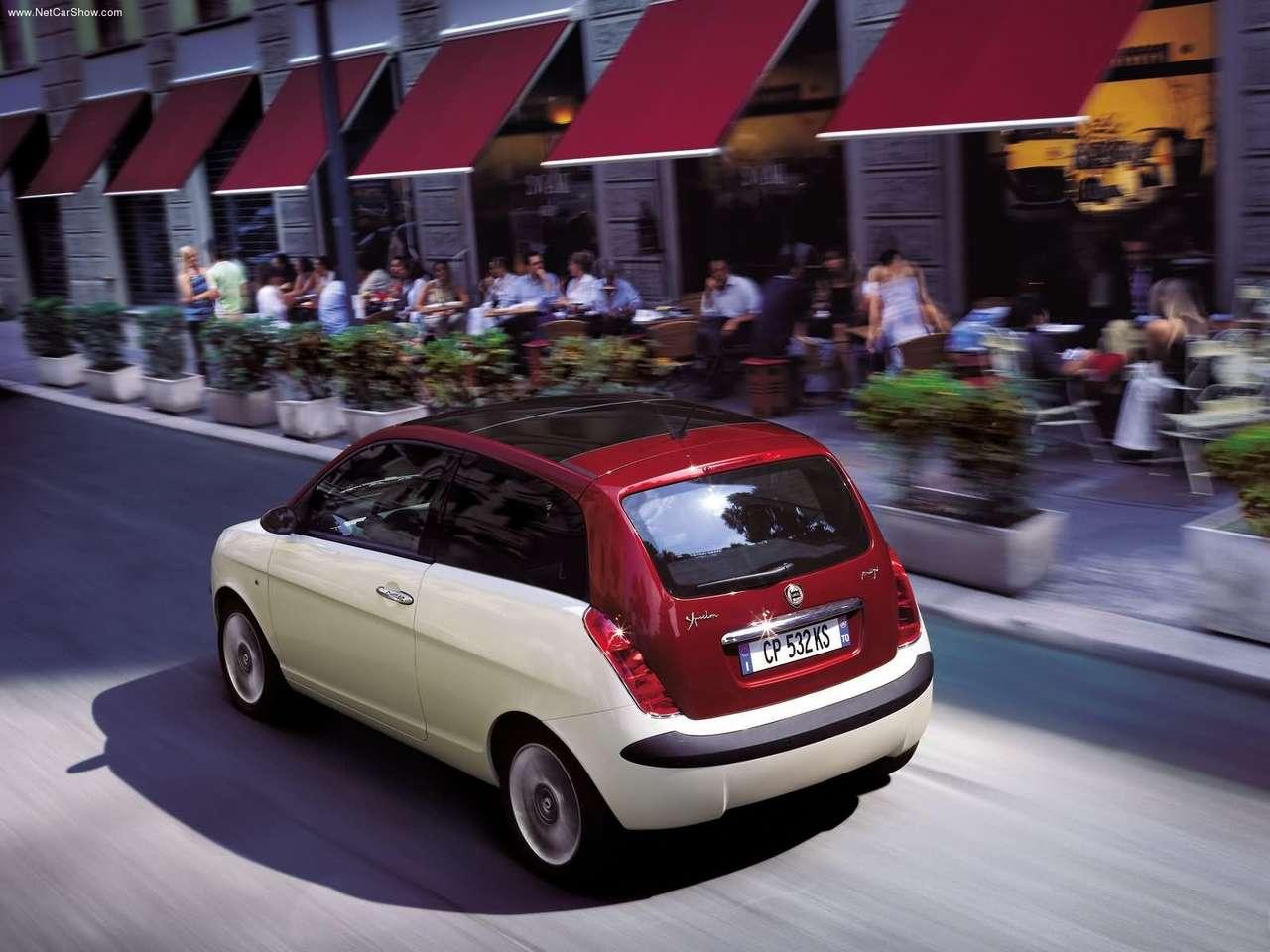 Lancia - Auto twenty-first century: 2004 Lancia Ypsilon BKini