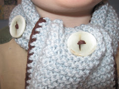 Little Button Scarf