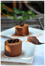 Timbal de mousse de chocolate