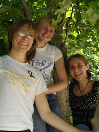 My girls in a tree