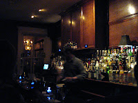 18th Street Lounge's fully stocked bar.