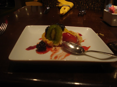 Fruit tart.  Sigh...