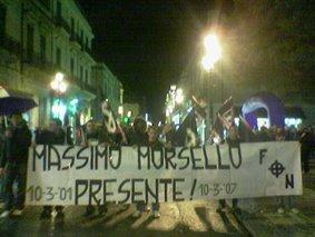 Massimo Morsello Presente