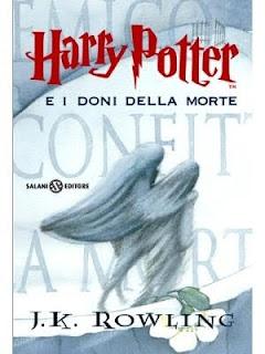 copertina harry potter e i doni della morte 7