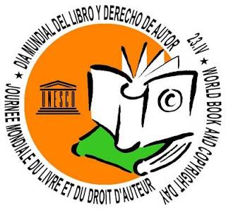 logo giornata mondiale libro e diritto d'autore