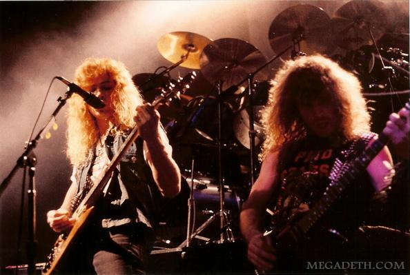 shadow metal megadeth with kerry king 1984