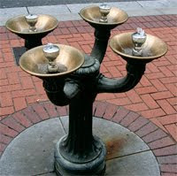 Benson Bubbler in downtown Portland Oregon