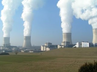 Nuclear power plants discharge a lot of cooling water