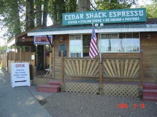 Neah Bay's Cedar Shack Espresso