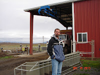 Kevin Maas, co-founder of Farm Power Northwest at the Rexville, WA installation