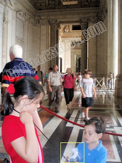 St. Peter's Basilica Entrance