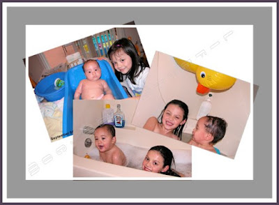 mommy moments bath time