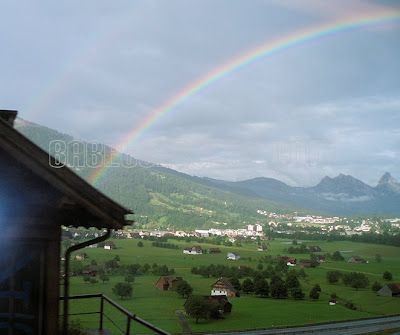 Switzerland - Rainbow