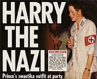 prince harry wearing a nazi uniform to a costume party in 2005