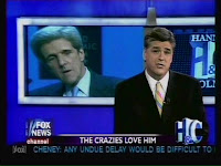 fox tries to link kerry to 9/11 conspiracy theorists