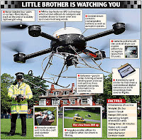 uk spy drone takes to the skies