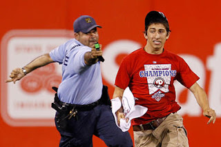 17yr old phillies fan tasered: why police are using tasers more often