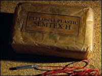stolen semtex explosives & detonators left unguarded