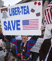 2,000 crowd capitol 'tea party' to protest taxes