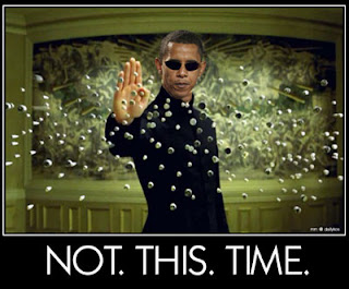 obama: take the blue pill & stay asleep