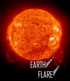 top physicist says solar flare would set us back 100 years