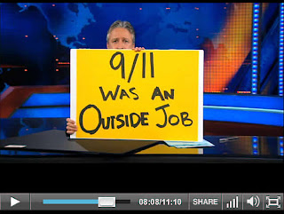 jon stewart trashes 9/11 truth