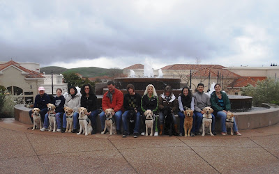 Photo of members of the Contra Costa County Puppy Raising Club
