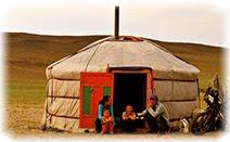 Юрта, Монголия